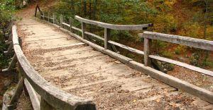 Pod de care peste Raul Cerna