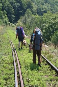 Pe calea ferată în drum spre ciudanoviţa