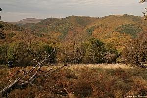 Cheile Garlistei vazute de pe Dealul Moghila