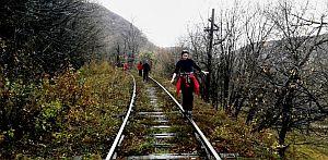 Pe calea ferata