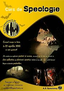 Curs de Inițiere în Speologie 2012