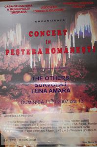 afis concert romanesti