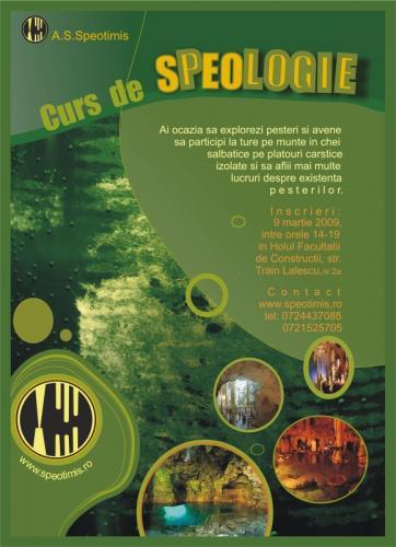 Curs de initiere in speologie 2009