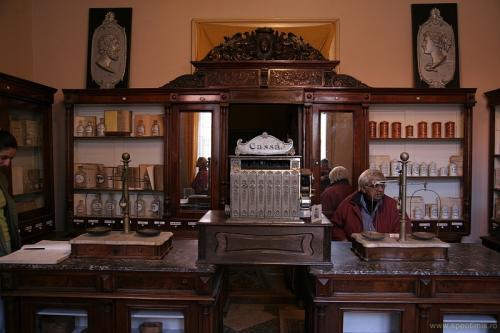 Farmacia La Vulturul Negru, Oravita