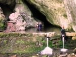 Vizită în Avenul Albastru și Peștera Buhui sau Fotbal peșteresc